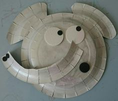 paper plate crafts kids toddlers elephant