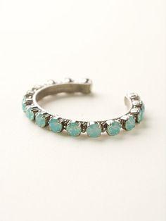 Riveting Romance Cuff Bracelet - Sorrelli Essentials in Pacific Opal by Sorrelli - $95.00 (http://www.sorrelli.com/products/BCL23ASPAC)
