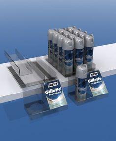 Een opvallende presentatie van een tester met daarbij de producten voor de verkoop. U regelt het via http://www.puldisplay.com