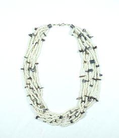Berber Stone & Bead Tribal Necklace - Ethnografi