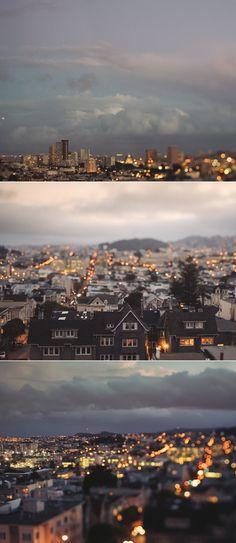 San Francisco at dusk. Photos by Kristin Kirkley | exPress-o