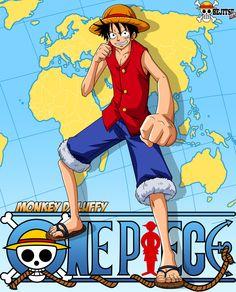 [Character #1] Monkey D. Luffy Alias , Mugiwara no ichimi [#1]