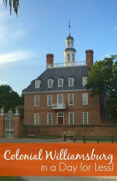 http://www.greeneratravel.com/ Cambodia Tours -  How to do Colonial Williamsburg in a day (or less!)                                                                                                                                                      More