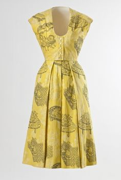 1950's De De Johnson Dress