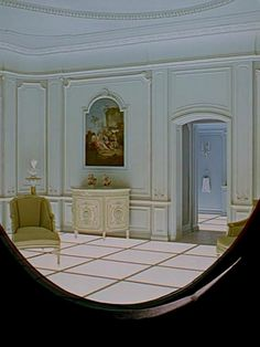 Fuck pad on pinterest spa reception area gold for Bedroom 2001 space odyssey