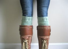 KNITTING PATTERN PDF File  Boot Cuff Knitting by hilaryfrazier, $5.50 ... want the boots too ;)
