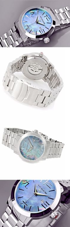 Other Mens Jewelry 177770: Aragon 44Mm Cc Mother Of Pearl Automatic Bracelet Watch W Collector S Case Nwt -> BUY IT NOW ONLY: $140 on eBay!