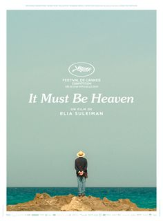 is Palestine's entry to Best Int'l Feature Film category - poster Films Cinema, Cinema Posters, Heaven Movie, Must Be Heaven, Technique Photo, Film Recommendations, Film Poster Design, French Movies, Best Movie Posters