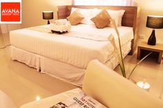 New economic room at the Avana Hotel Bangkok