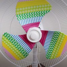 nice DIY Rainbow Fan
