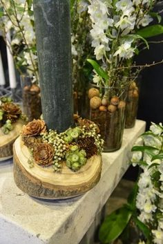 Nature Decor, Nature Crafts, Christmas Decorations, Table Decorations, Wreaths, Flowers, Inspiration, Denmark, Home Decor