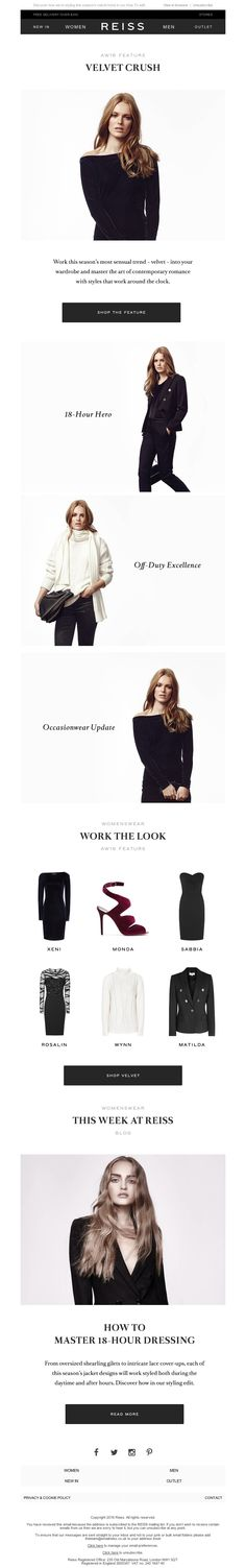 Reiss - A Sensual Mood: Dazzle After Dark in Desirable Dresses