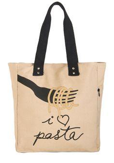 Linguine Lover Tote | Mod Retro Vintage Bags | ModCloth.com