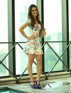 Super Vaidosa » Look do Dia: Floral Dress