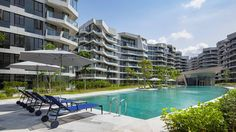 Corals at Keppel Bay project #parklife #kettal #jaspermorrison #singapore #keppelbay #deckchairs #sunloungers