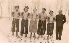 sarıkamış 1930.perihan adoran(türkiyenin ilk kadın turist rehberlernden merzifon amerikan kız kolejinden)ile birlkte
