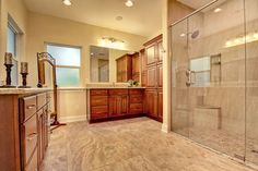 A Bathroom Remodel In Cleburne Texas Is The Perfect His Bathroom The Rustic Look Was