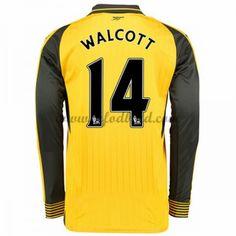 Billige Fodboldtrøjer Arsenal 2016-17 Walcott 14 Langærmet Udebanetrøje