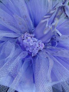 Lavandar Flower Girl Tutu dress! Raynebelles on Etsy.