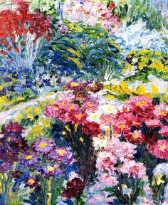 bofransson:  Anna Weid's GardenEmile Nolde - 1907