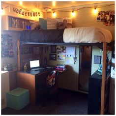 Dorm Decor, travel decor, travel dorm room, college, Union Jack, Wanderlust