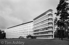 This is the Paimio Sanatorium by Alvar Aalto, in South West Finland. Built to treat tuberculosis patients, it is one of the most famous Modernist buildings ...