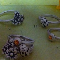 James Avery Stacked Rings