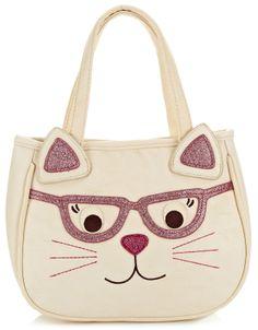 Cat in Glasses Bag