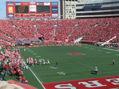 Camp Randall Stadium  Madison, Wisconsin- Come on over to Ruth's Chris Steak House after a Badger Football Game!