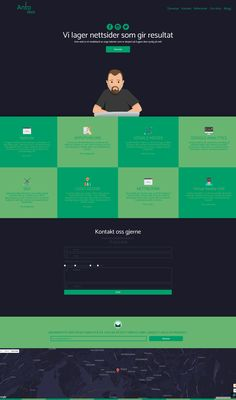 unique web agency design theme. modern webdesign and responsive one page-