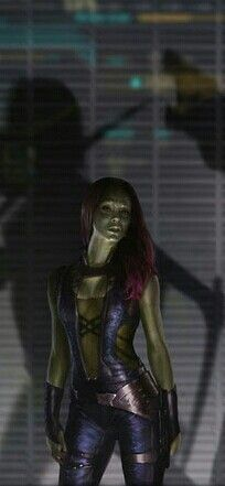 Gamora - Guardian of the Galaxy movie, Zoe Saldana