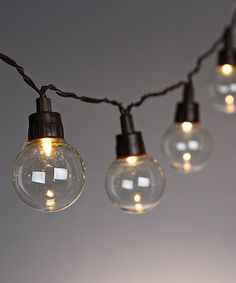 Everlasting Glow Solar LED Patio Light Set   Zulily · Outdoor LightingString  ...