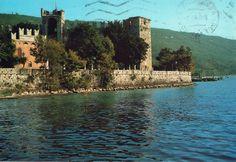 Torri del Benaco (Vicenza) Il Castello Cartolina viaggiata