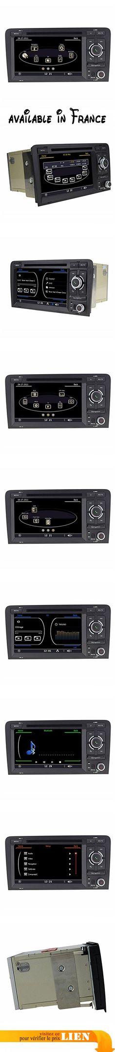 Topnavi 17,8cm 800x 480double DIN WinCE 6.0Auto Navigation GPS pour Audi A3(2003–2013) lecteur DVD de voiture Bluetooth radio RAM 256MB CPU MTK Mt3360Audio Stéréo de voiture Répertoire téléphone portable chargement support iPod/iPhone NAND Flash 128Mo. 1. Système d'exploitation: WinCE 6.0. 2.Processeur: MTK mt3360principale (800MHz + 250MHz DSP). 3. Mémoire RAM: 256Mo DDR SDRAM 3. 4. (Flash NAND): 128Mo 5. Prise en charge RDS,