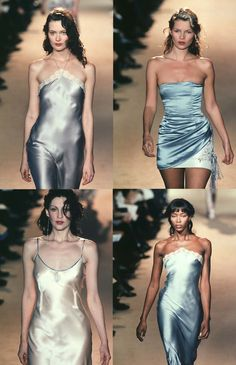 Slip dresses are on the way back... Chloe SS98