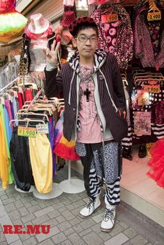 Street Style, Harajuku - Tokyo  http://re.mu/remuavenue/product/12591