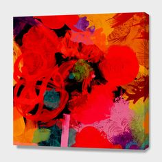 """JOY"", Numbered Edition Canvas Print by Rebecca Allen - From $69.00 - Curioos"