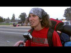 Amazing Interview w/ Hatchet Wielding Hitchhiker *Warning: Language/Content