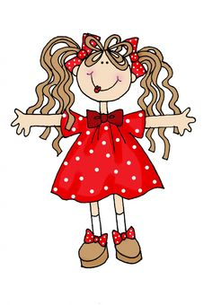 Dearie Dolls Digi Stamps | Free digital images and a little poetry to read. |