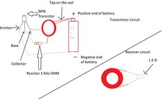 Wireless Electricity Transmission Circuit : 9 Steps (with Pictures) - Instructables Wireless Battery Charger, Battery Charger Circuit, Automatic Battery Charger, Ldr Circuit, Circuit Board Design, Big Data Technologies, Simple Circuit, Cool Tech Gadgets, Circuit Projects