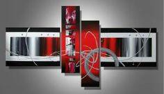 Tableaux rouge Favea design