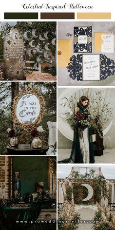 Witch Wedding, Pagan Wedding, Moon Wedding, Celestial Wedding, Fantasy Wedding, Medieval Wedding, Gothic Wedding Ideas, Black Wedding Decor, Modern Wedding Ideas