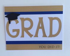 Graduation Card Money Card Gift Card Holder by SimplyyHandmade