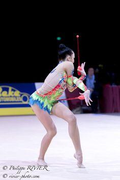 Jana BEREZKO-MARGGRANDER (Germany); Thiais 2015 #rhythmic_gymnastics