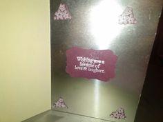 Inside to wedding card