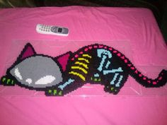Diy Perler Beads, Perler Bead Art, Pearler Beads, Pony Bead Patterns, Hama Beads Patterns, Beading Patterns, Fall Knitting Patterns, Knitting Charts, Pixel Art