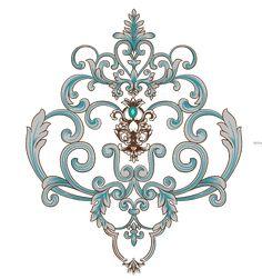 Baroque Design, Future Fashion, Paisley Design, Border Design, Textile Design, Art Deco, Textiles, Animation, Ornaments