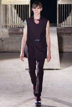 Raf Simons Spring 2015 Menswear