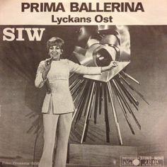 Prima ballerina.   Siw Malmkvist.  Svensk version af det tyske Grand Prix-bidrag 1969.