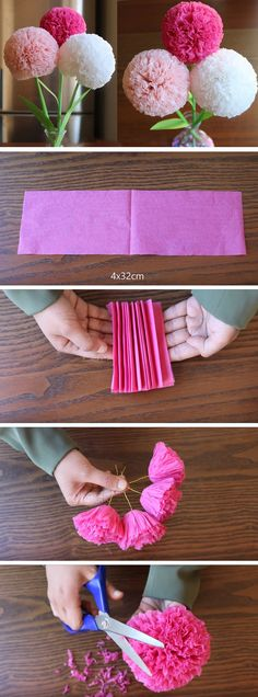 How to make a paper flower <3
